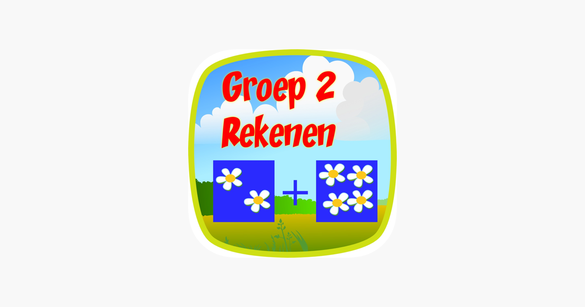 Ongekend Rekenen Groep 2 on the App Store XJ-44