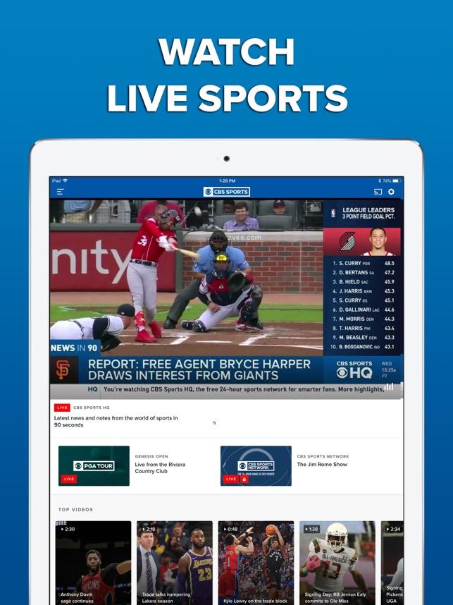 CBS Sports App Scores & News on the App Store