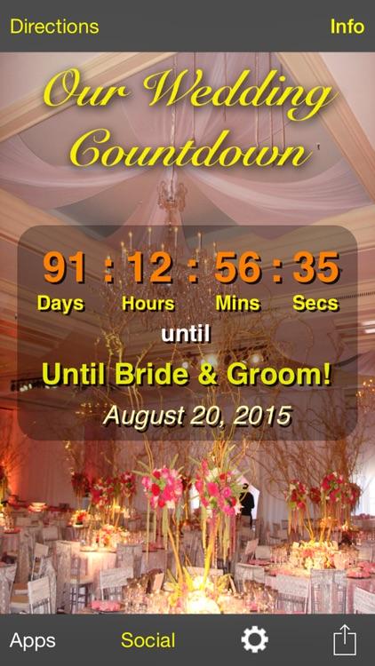 Our Wedding Countdown screenshot-4