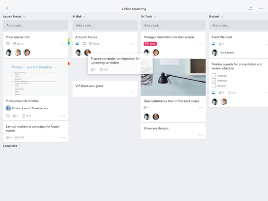 Microsoft Planner screenshot 6