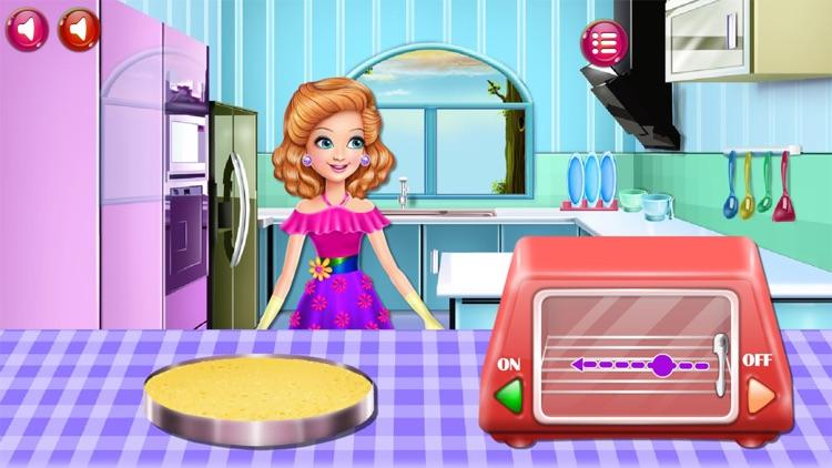 Cooking Game,Sandra's Desserts screenshot-5