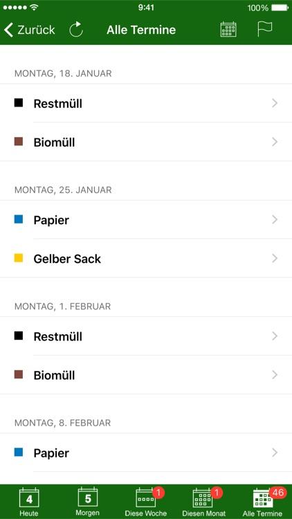 Abfall App OL