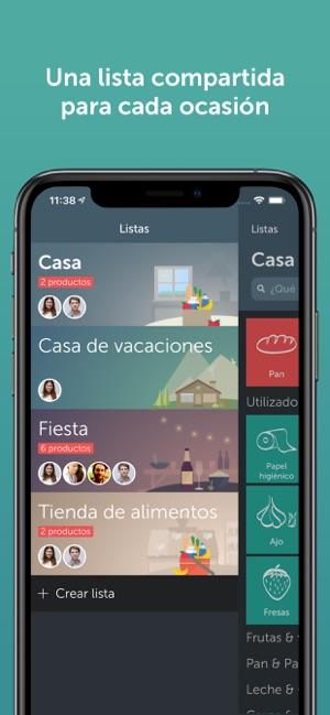 MEJOR APLICACION LISTA DE LA COMPRA IPHONE