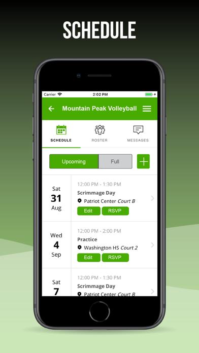 Mountain Peak Volleyball screenshot two