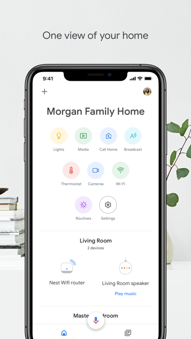messages.download Google Home software