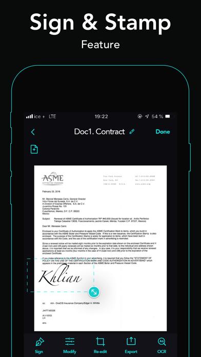 Screenshot of cam scanner+ PDF Scanner app6