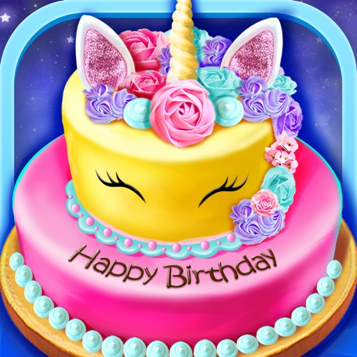 Birthday Cake Design Party iOS App