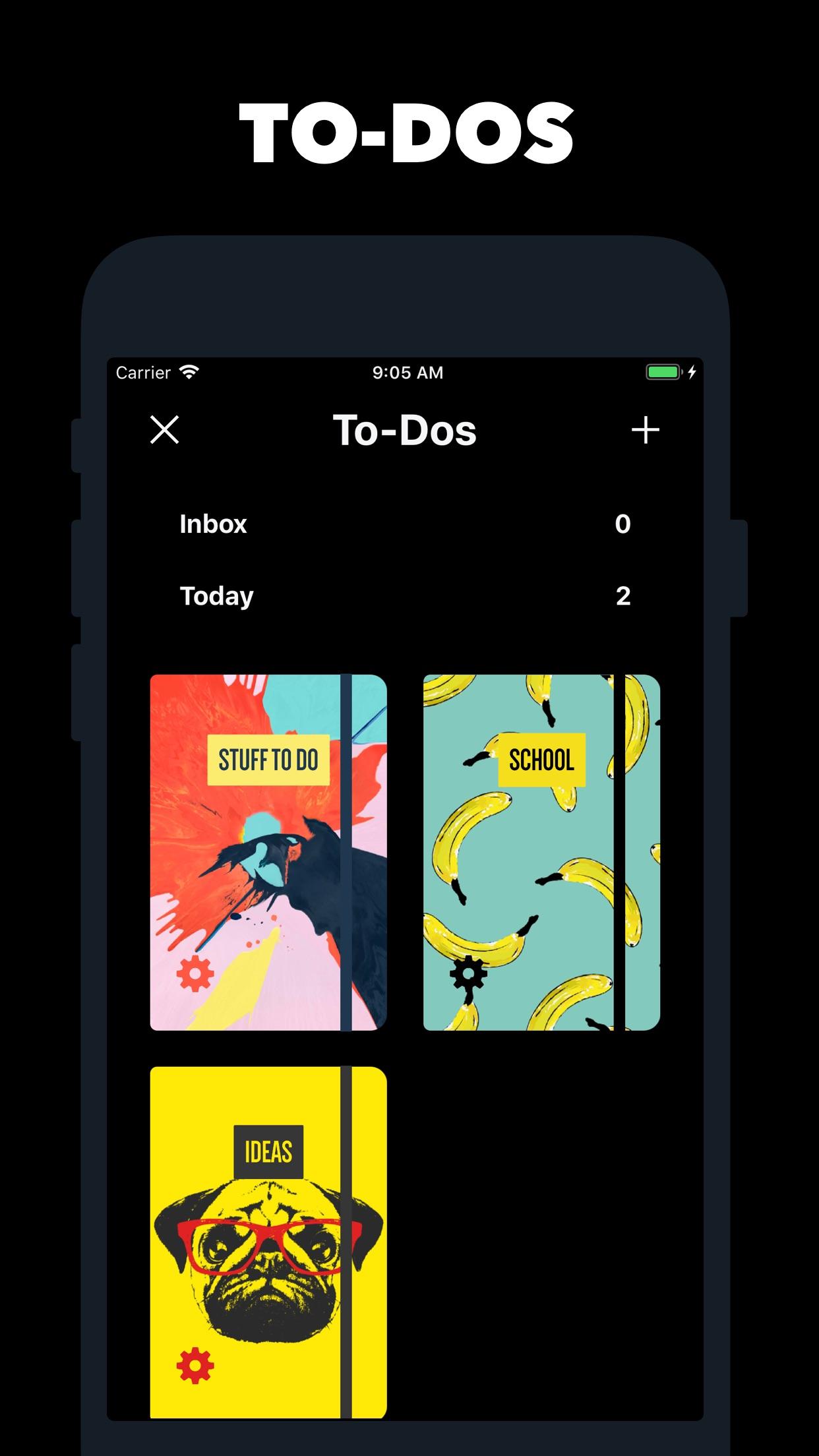 Screenshot do app Vantage Calendar