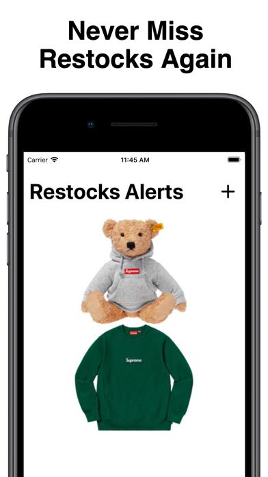 Restocks Alerts by SuperCop Screenshot