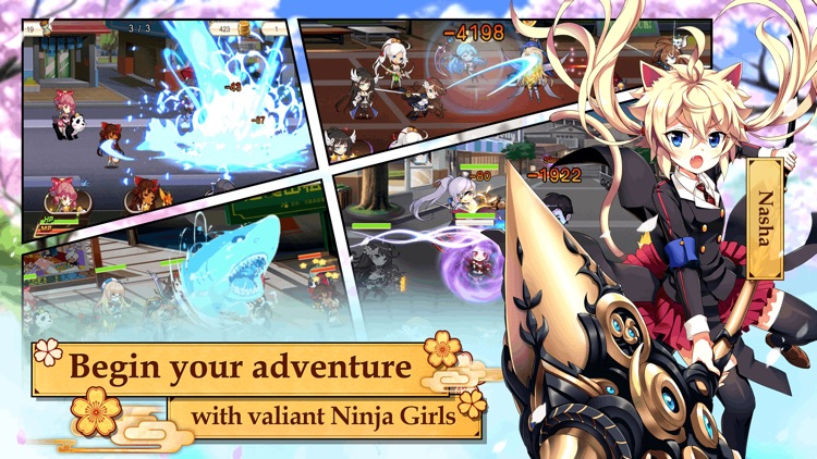 Ninja Girls: Reborn screenshot-1