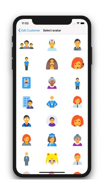 Customer Management - Contacts screenshot-3