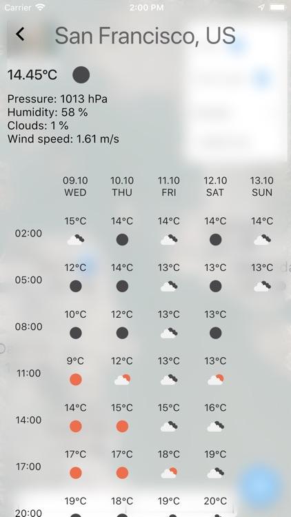 Weather Map No ads screenshot-3
