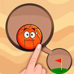 dig this : sand ball fall