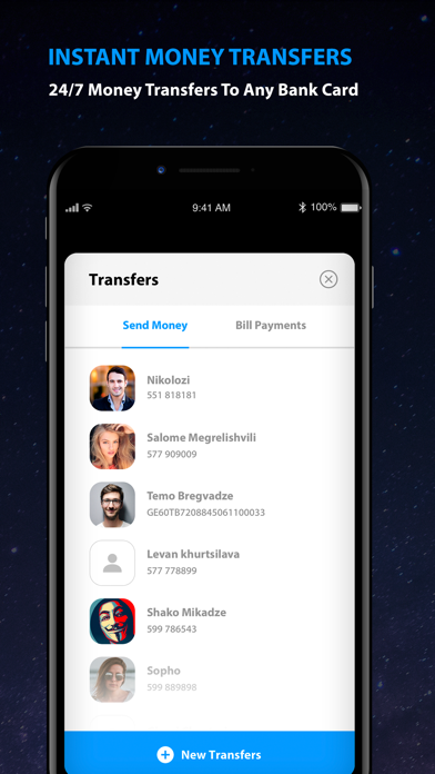 Space - Digital Banking by TBC Bank (iOS, United States
