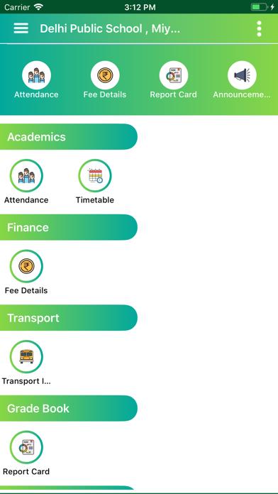DPS Miyapur Parent Portal screenshot 1