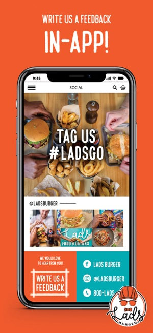 Lads Burger on the App Store