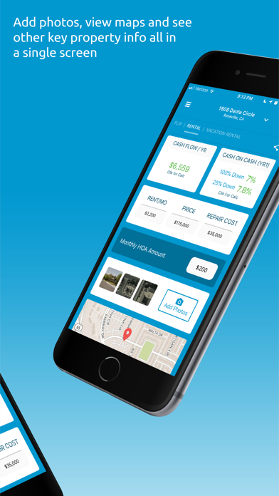 Clik2Flip: Analyze Real Estate Screenshot