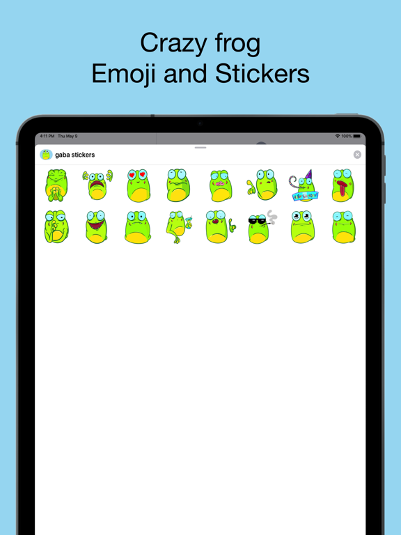 Crazy frog emojis - stickers screenshot 6