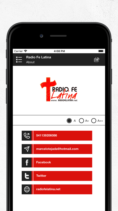点击获取Radio Fe Latina