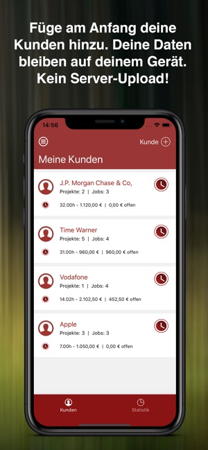 WorkWatch2 Screenshot