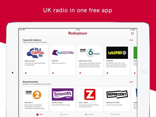 Radioplayer - UK radio is here on the App Store