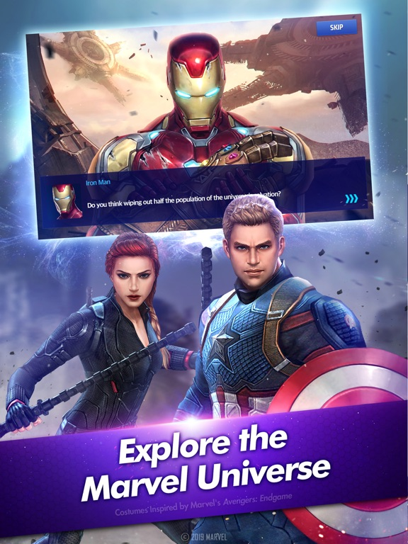 MARVEL Future Fight - Revenue & Download estimates - Apple App Store