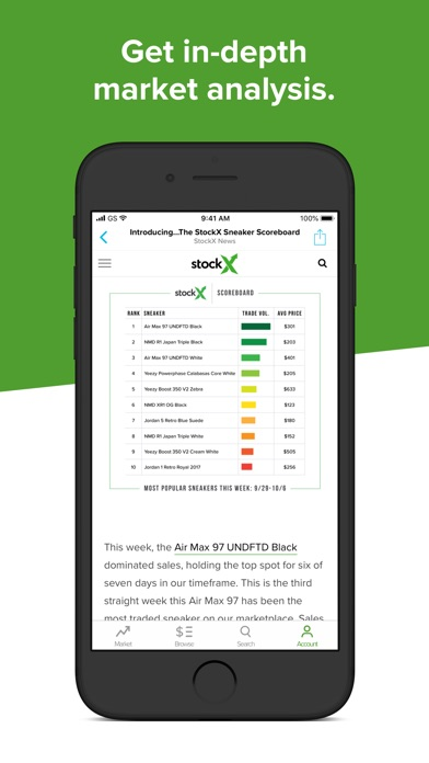 5cb3b2dde ... Screenshot for StockX - Buy   Sell Authentic in United States App Store