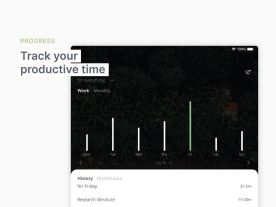Focus Better: ポモドーロタイマー ポモドーロのおすすめ画像4