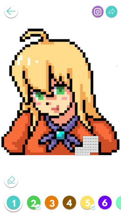 Color Pixel Number screenshot 1