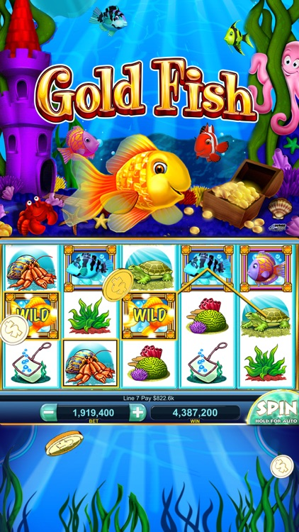 Gold Fish Casino - Slots Games screenshot-4