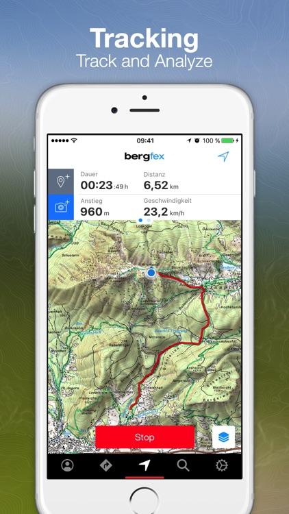 bergfex Tours & GPS Tracking screenshot-3