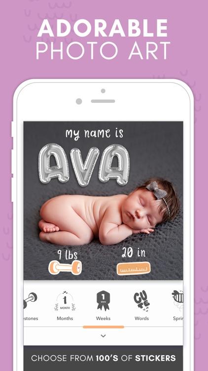 Precious - Baby Photo Art screenshot-0