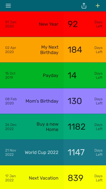Countdown App - Day Counter
