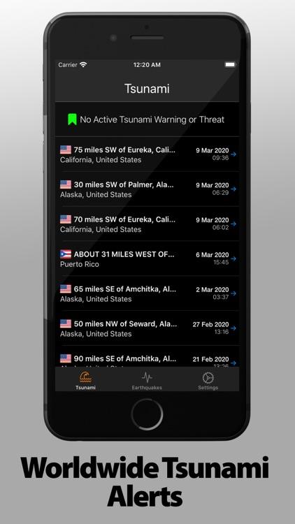 EarthQuake Info & Notification screenshot-5