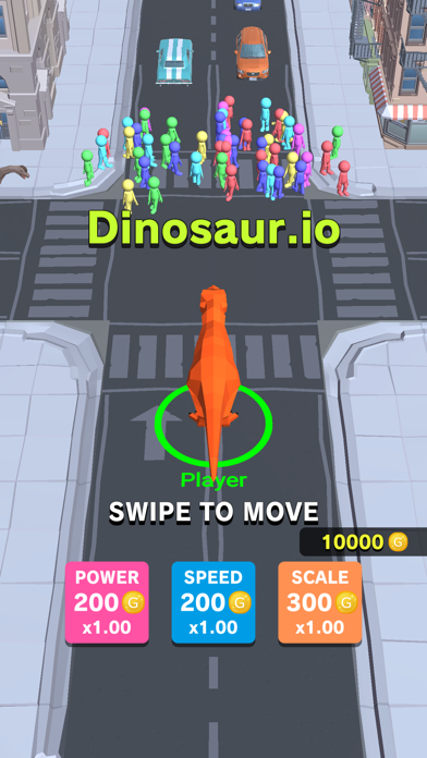 Dinosaur Rampage screenshot 1