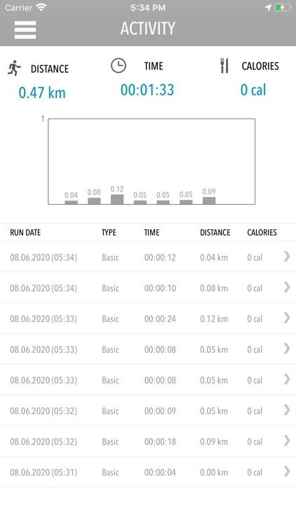 Jogger GPS Run Tracker screenshot-2