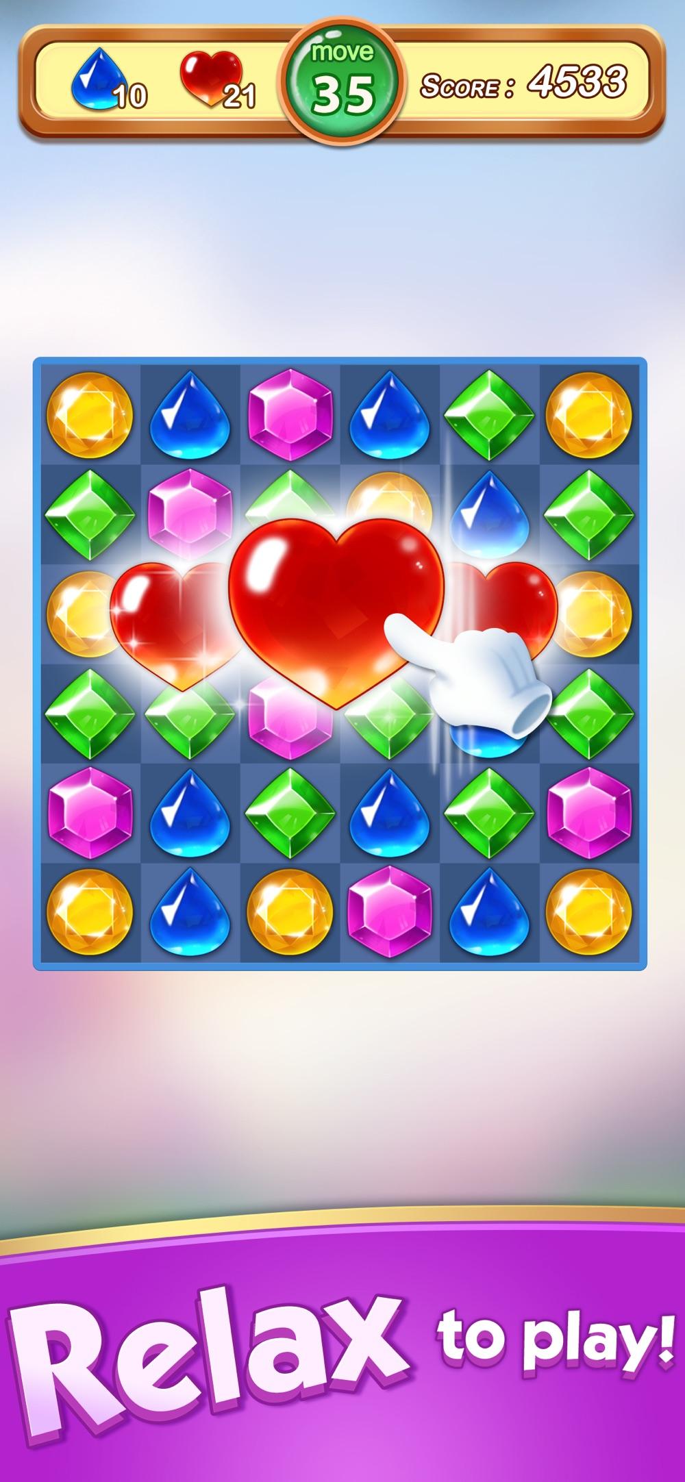Jewels & Gems – Match 3 Games Cheat Codes