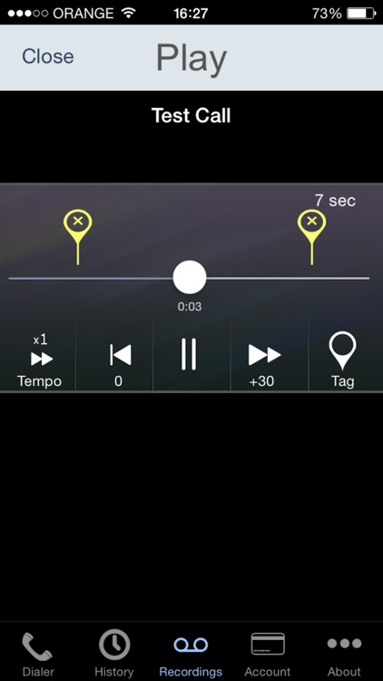 Call Recorder - IntCall screenshot-4