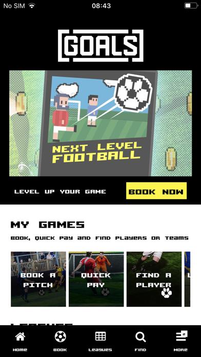 Goals Soccer Centres screenshot one