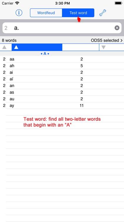 Français Words Finder/WF screenshot-4