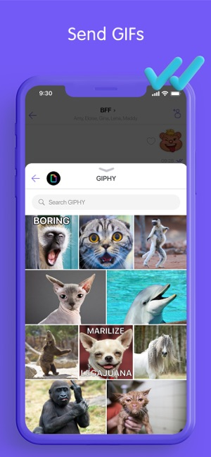 ‎Viber Messenger: Chats & Calls Screenshot