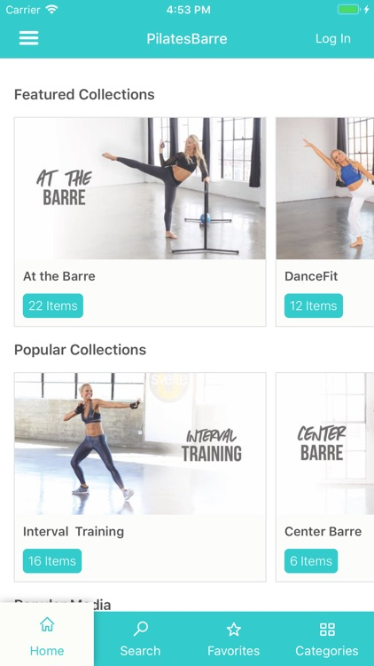 Pilates Barre On Demand