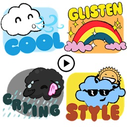 Animated Cute Weather Emoji