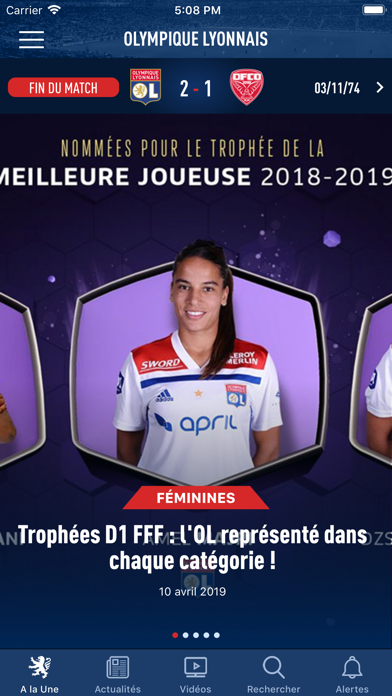 download Olympique Lyonnais apps 4