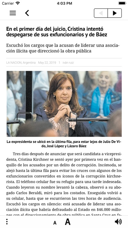 LA NACION Kiosco screenshot-3