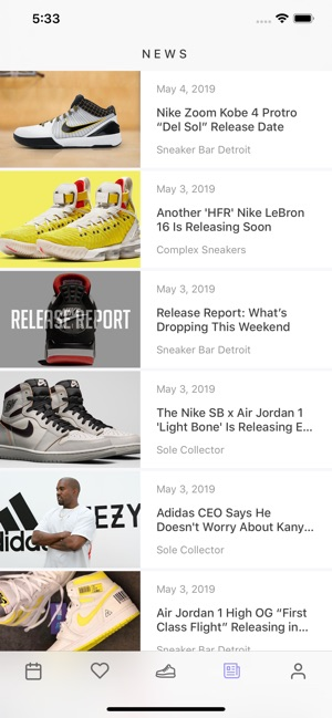5f4462ac41e  Sneaker Crush - Release Dates on the App Store