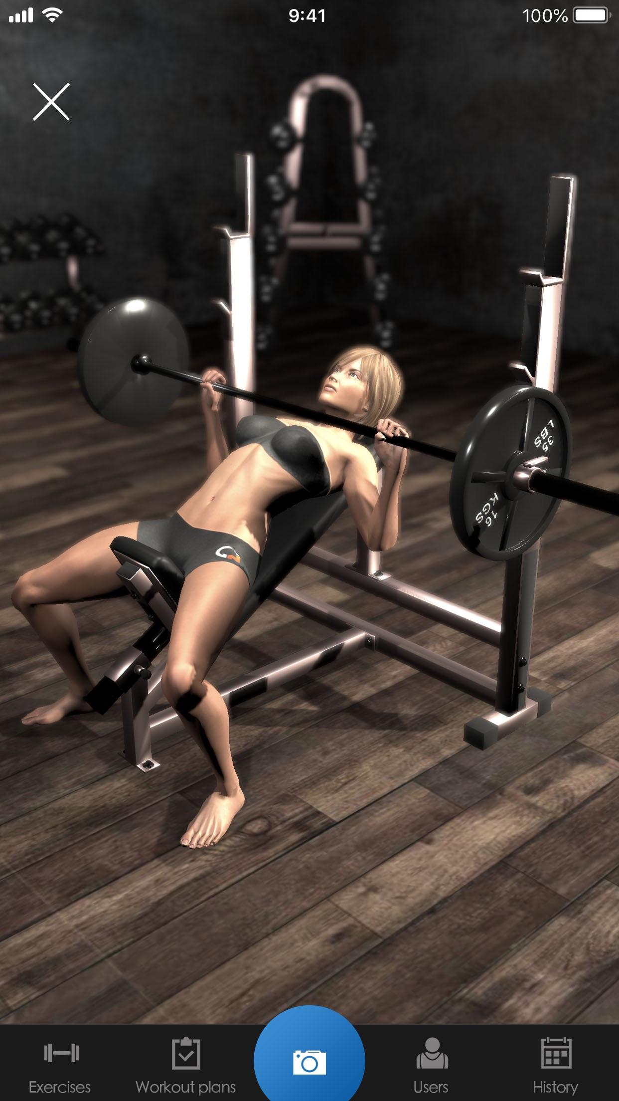 Gymnotize Pro Fitness Workout Screenshot