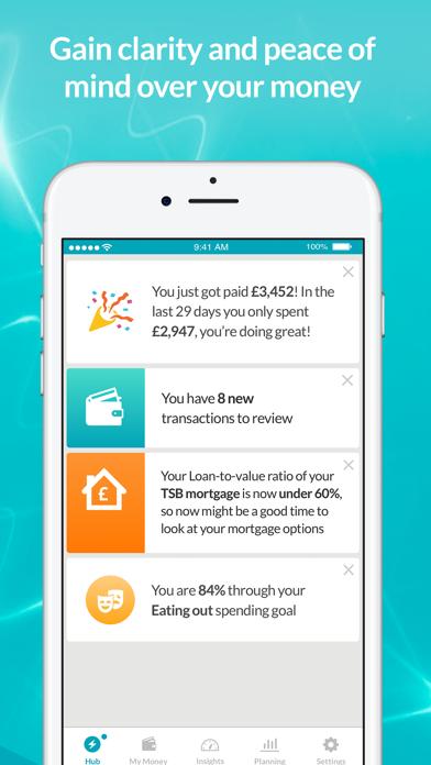 Moneyhub - Personal Finance screenshot one