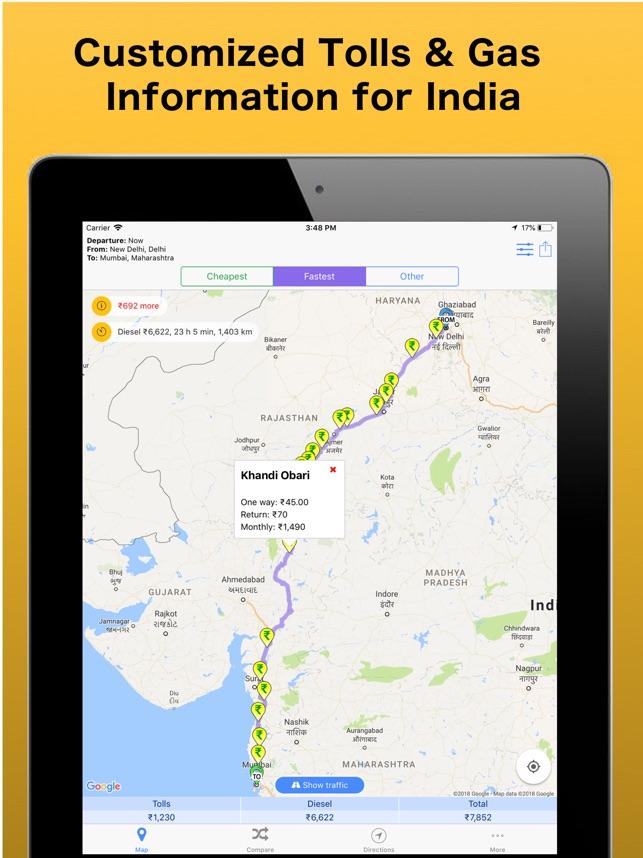 Trip Toll Calculator Tollguru on the App Store