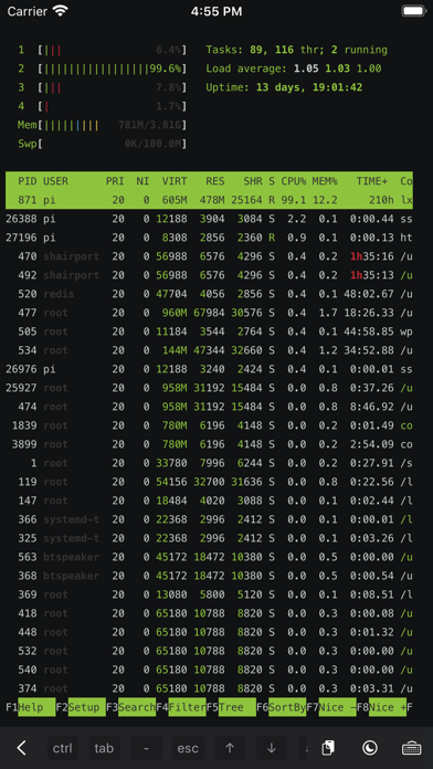 Servercat review screenshots